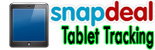 Snapdeal Tablet Tracking